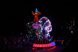 Mickey Mouse in the Paint the Night Parade | by Disney, Indiana