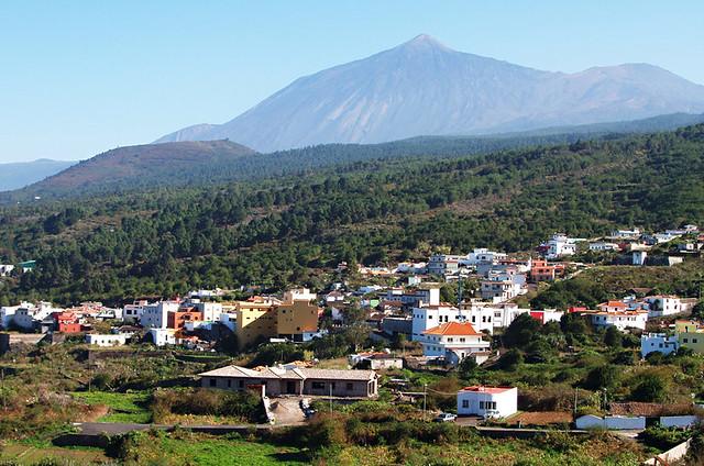 El Tanque and Mount Teide, Tenerife