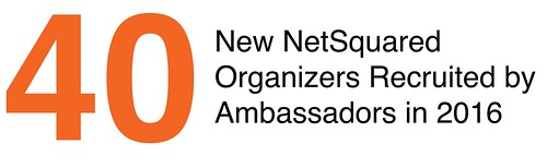 New NetSquared Organizers Recruited by Ambassadors in 2016