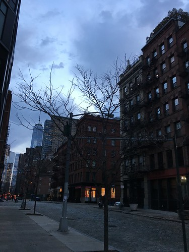 Tribeca at dusk