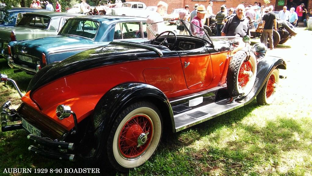 Auburn 1929 8-90 at Vintage Veteran Club JHB 159   Paul Horn   Flickr