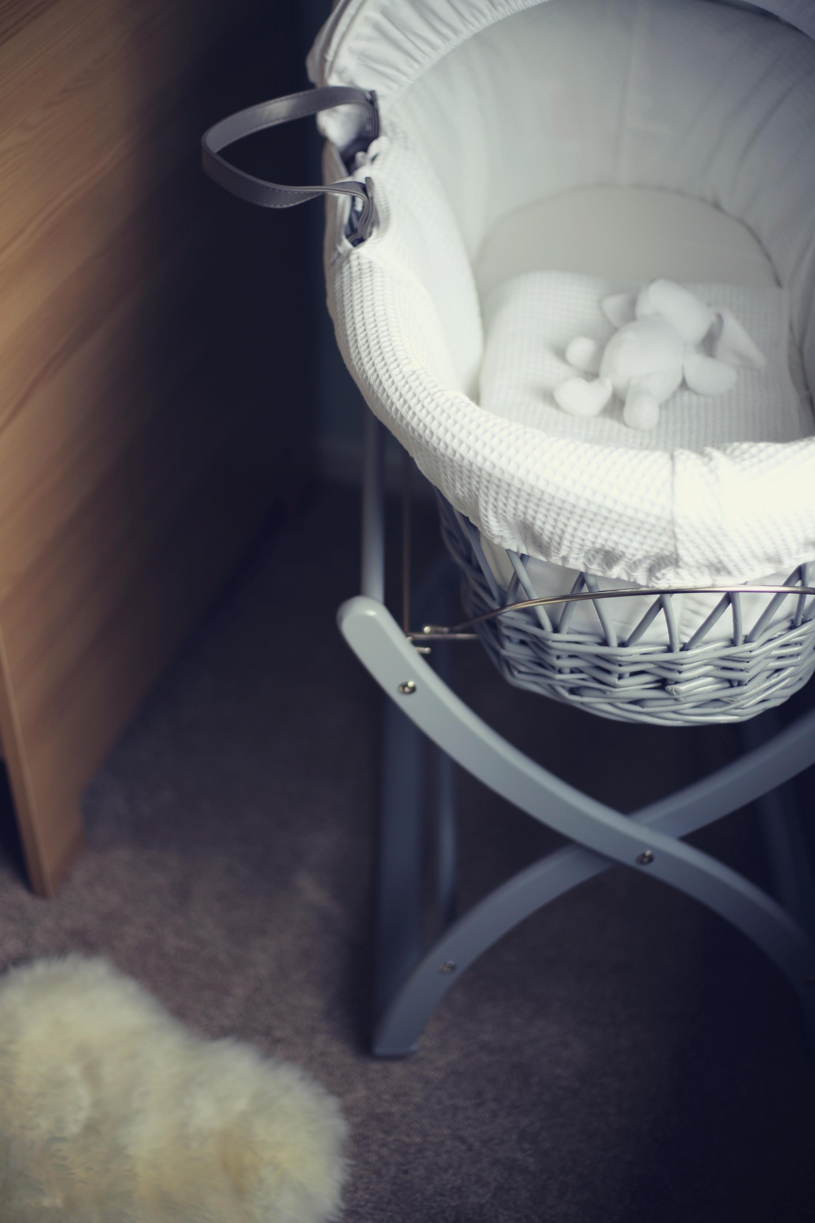 scandi style moses basket