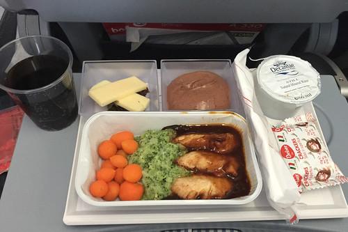 06 - Hähncheninnenfilet mit Broccoilipüree - Air Berlin