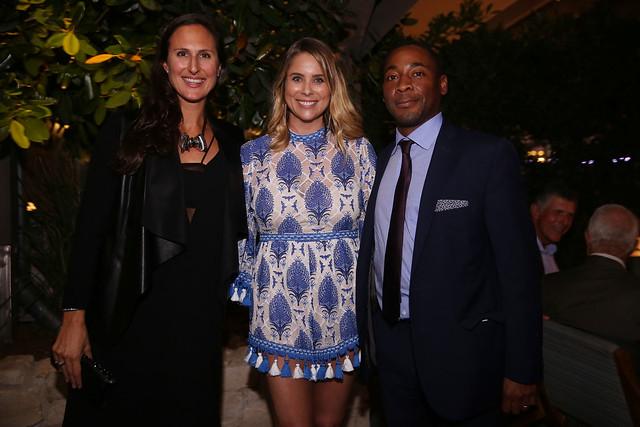 Melissa Cowley Wolf, Amanda Harris, & Franklin Sirmans