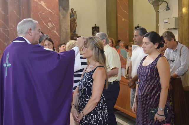 """La misa del """"Miércoles de Ceniza"""""""