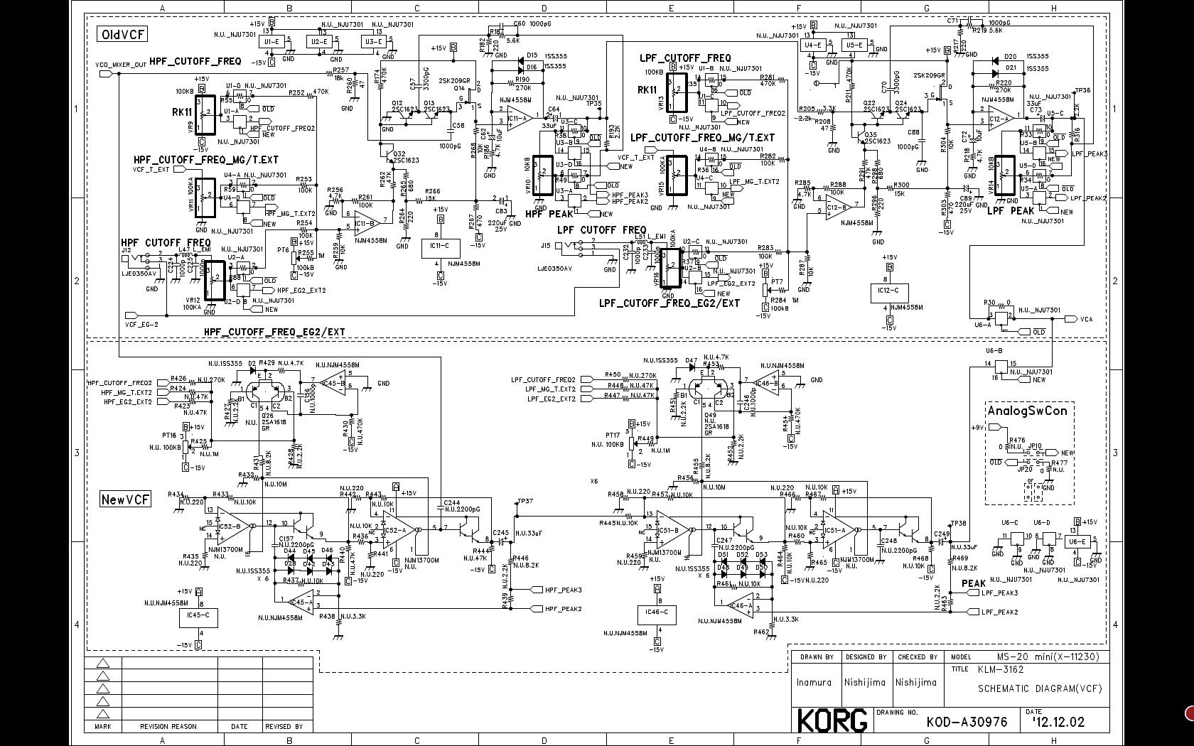 Amazing Sos Forum Korg Ms 20 Mini Modifications My Head Hurts Wiring Database Wedabyuccorg