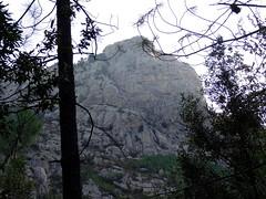 Sentier RG du Vaglie : arrivée au col 759 avec vue sur le Kyrie Eleison
