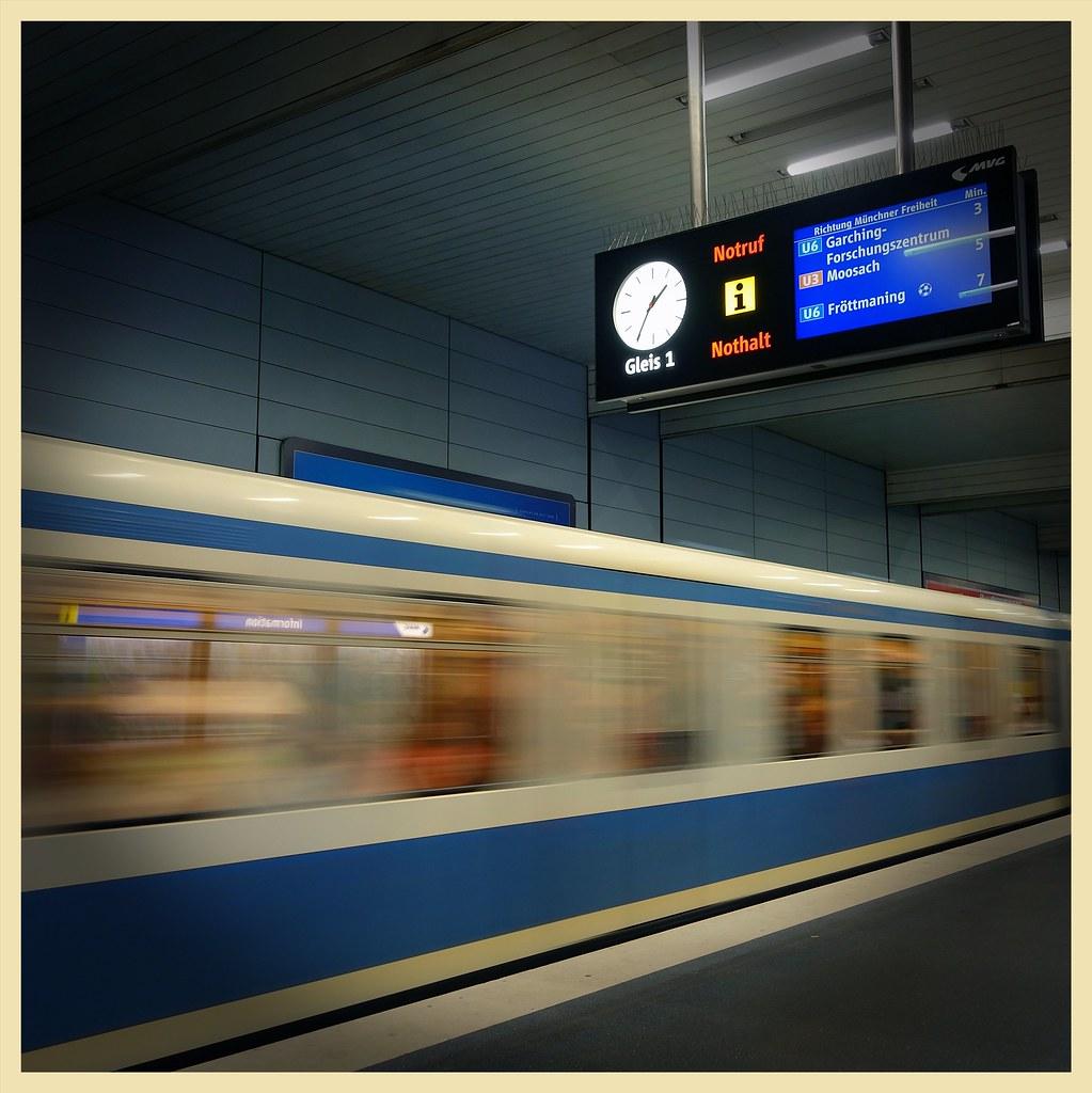 Gleis 1, Munich München U-Bahn
