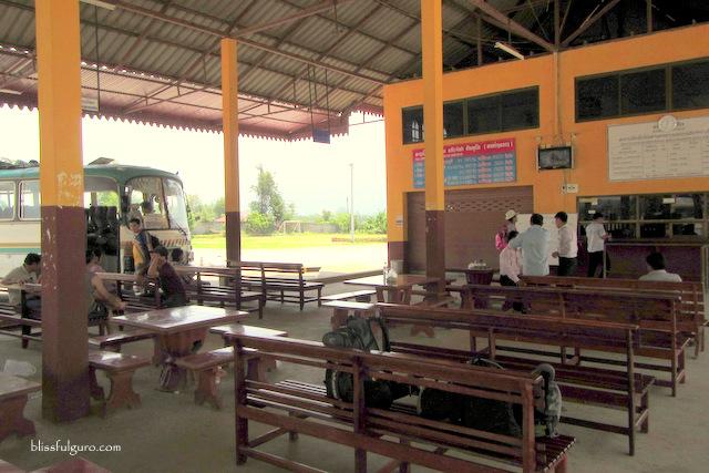 Keo Champa Bus Station Huay Xai Laos