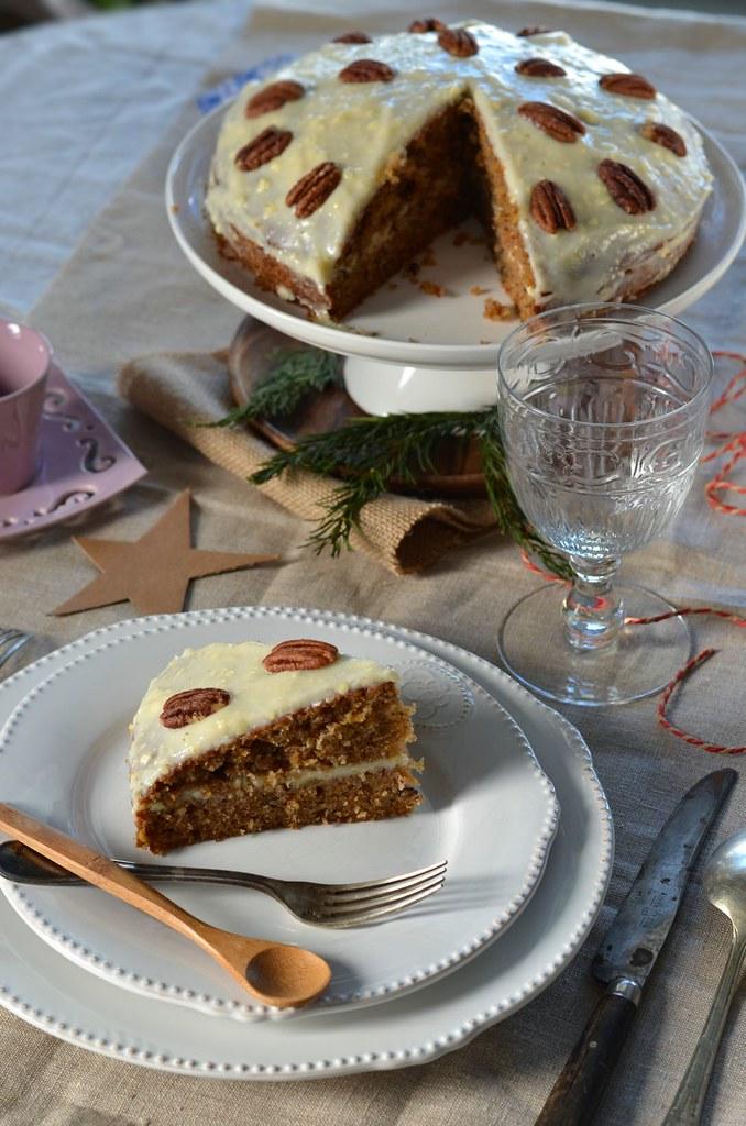 Carrot cake Gâteau aux carottes