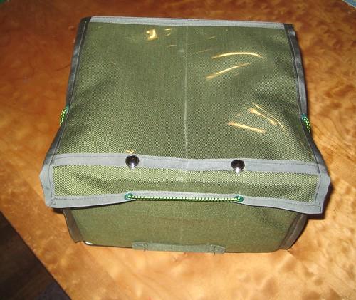 9x8x7 green rando bag, #1