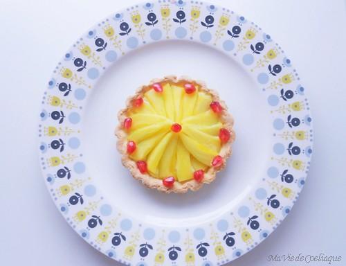 tartelette mangue sans gluten
