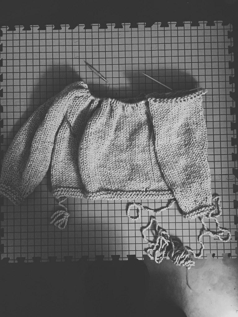 Knitting Oversized Sweater