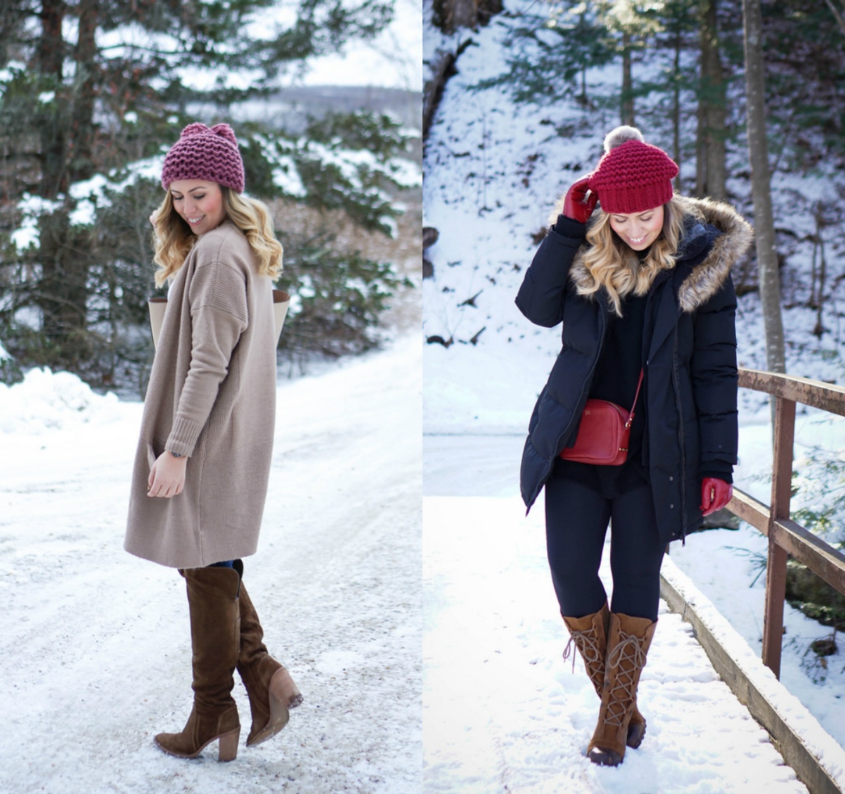 January 2017 Round Up on Living After Midnite | January Winter Outfits