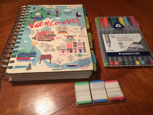 Everything Notebook and travel kit
