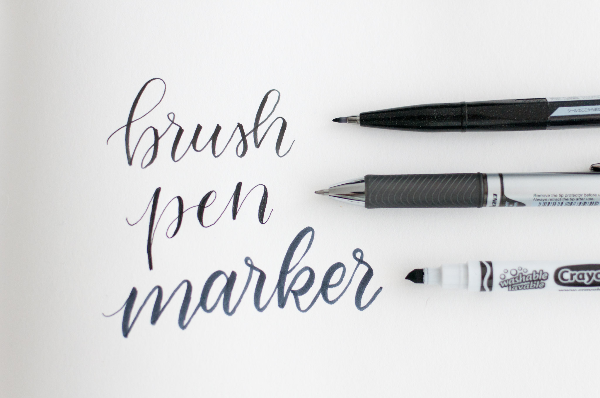 Modern Calligraphy For Beginners Writing Instruments