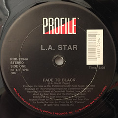 L.A. STAR:FADE TO BLACK(LABEL SIDE-A)