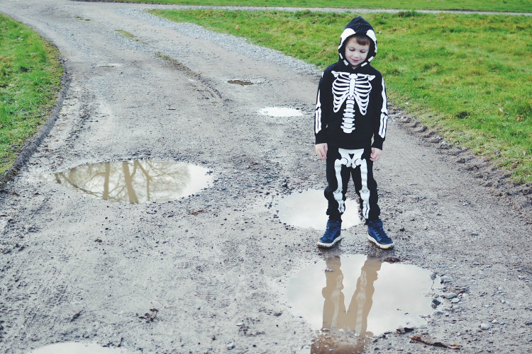 Skeleton Puddles