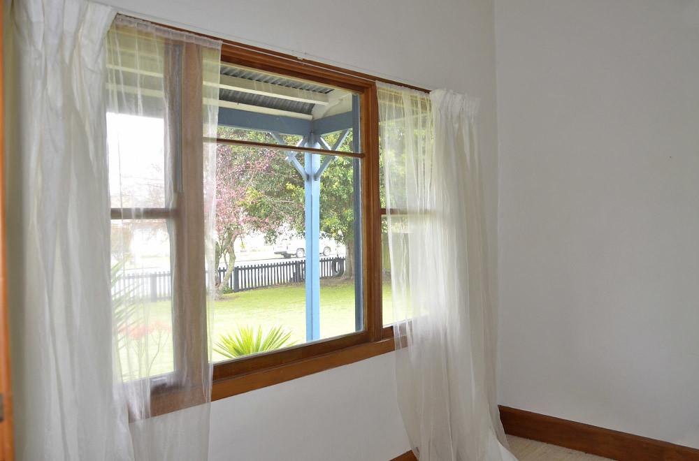 Unser Schlafzimmerfenster