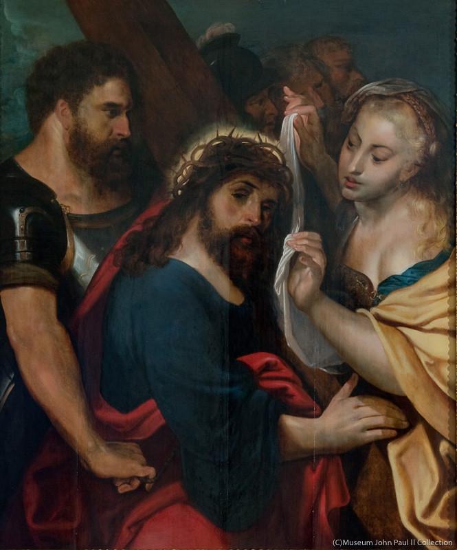 ペーテル・パウル・ルーベンス《十字架への道》(制作年不詳、ヨハネ・パウロ2世美術館蔵)