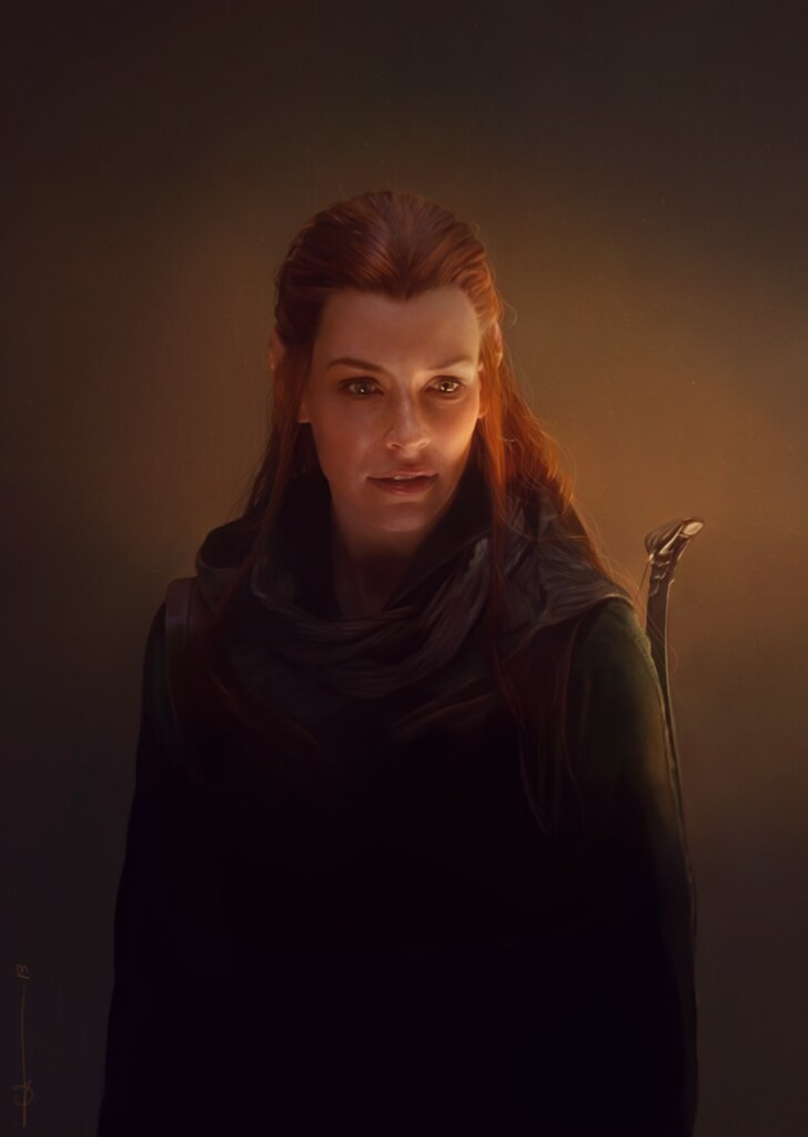 The Hobbit - Tauriel by euclase