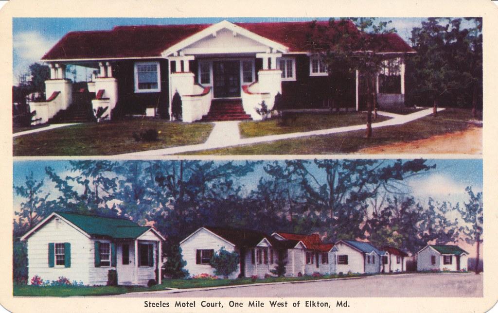 Steele's Motor Court - Elkton, Maryland