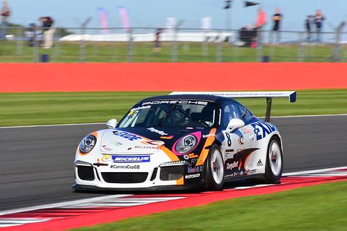 Ignas Gelzinis, Porsche Carrera Cup GB, Silverstone 2015