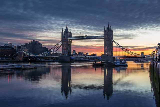 Tower Bridge - Dawn 2