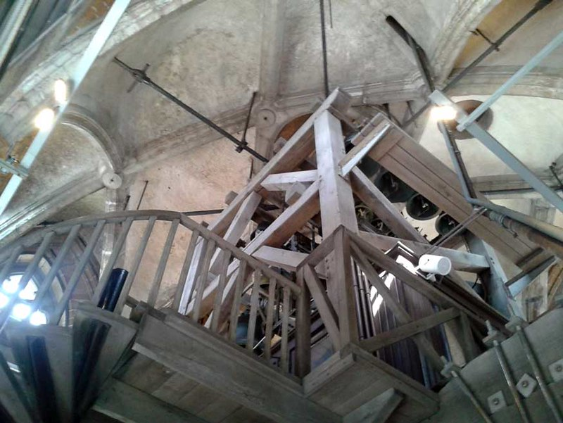 Luidklokken in Sint-Romboutstoren te Mechelen