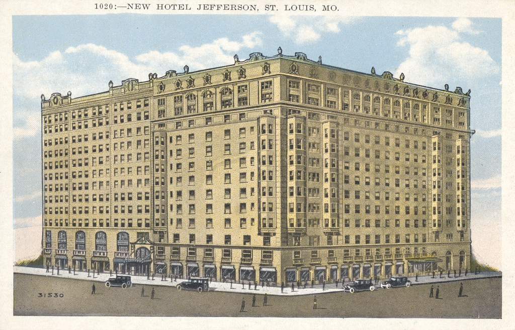 Hotel Jefferson - St. Louis, Missouri