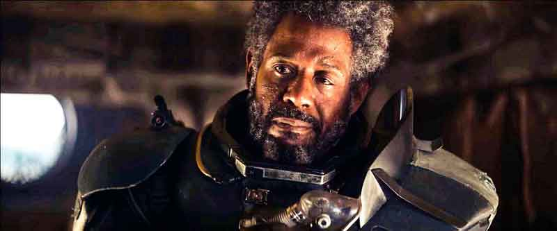Star Wars Rogue One Saw Gerrera