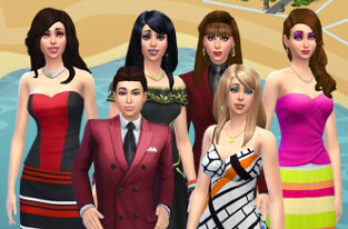 Sims 4 Family 2016 | by siaomiew