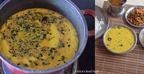 Instant mor kuzhambu recipe