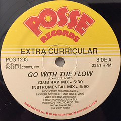 EXTRA CURRICULAR:GO WITH THE FLOW(LABEL SIDE-A)