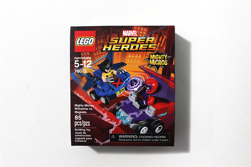 LEGO Marvel Super Heroes Mighty Micros Wolverine vs. Magneto (76073)