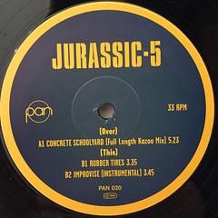 JURASSIC-5:CONCRETE SCHOOLYARD(LABEL SIDE-B)