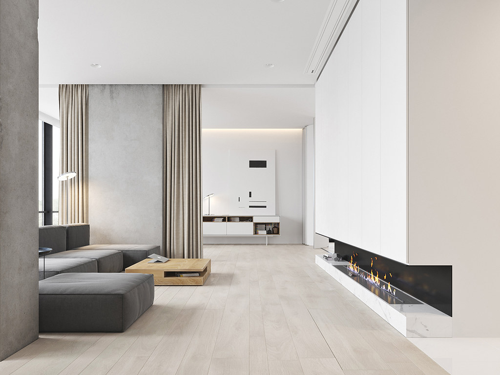 Minimalist bachelor apartment design in Montenegro by M3 Architectural&Construction group Sundeno_02