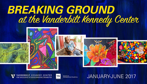 Breaking Ground at the Vanderbilt Kennedy Center [Art Exhibit 2017]