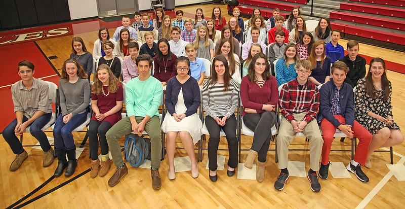 GCS Junior Beta Club induction 2017