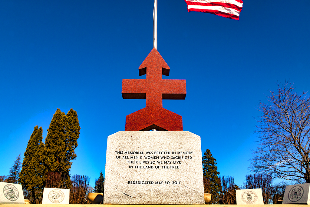War dead memorial--Redford