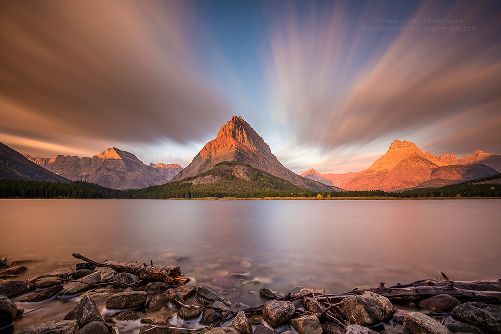 mount grinnell sunrise glacier np it was my first time in flickr
