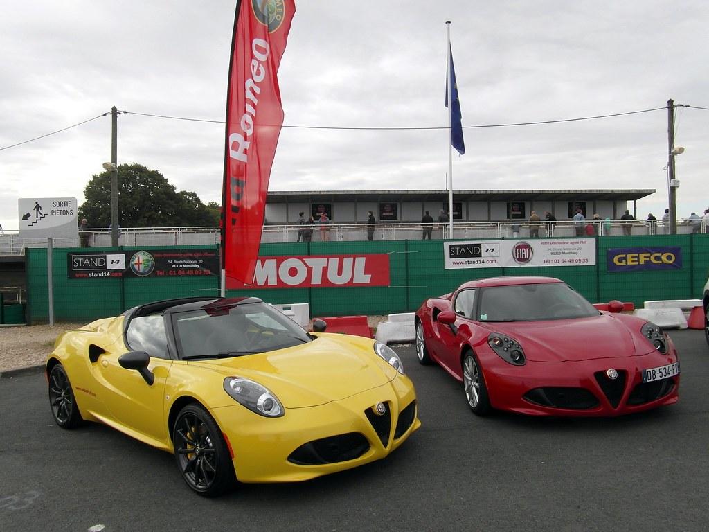 Autodrome Italian Meeting 2015 091 Alfa Romeo 4c Spider E Flickr Et Coupe By
