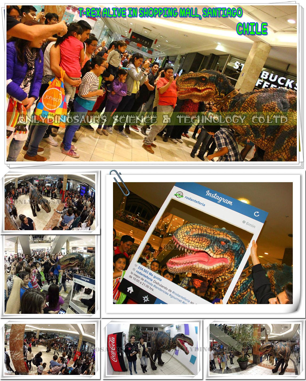 T-Rex Attacks Shopping Mall