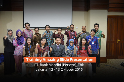Workshop Slide Presentasi bersama Dhony Firmansyah di Bank Mandiri | by dhonyfirmansyah