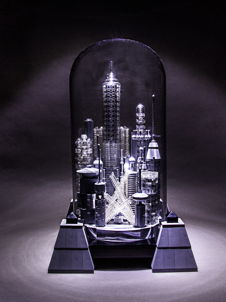 The Bottle City Of Kandor Once The Capital City Of