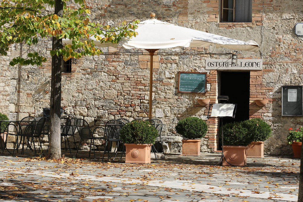 Osteria del leone bagno vignoni bagno vignoni una fraz flickr - Osteria del leone bagno vignoni ...