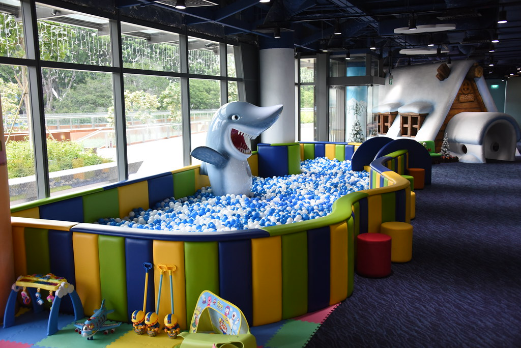 Shark Ball Pool: an all-time favourite with toddlers