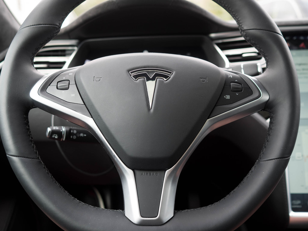 Tesla Model S Steering Wheel Day 7 Of 50 Like Many