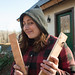 Tara With Plywood Stand-offs for Strawbale Cottage Cold Roof Eaves