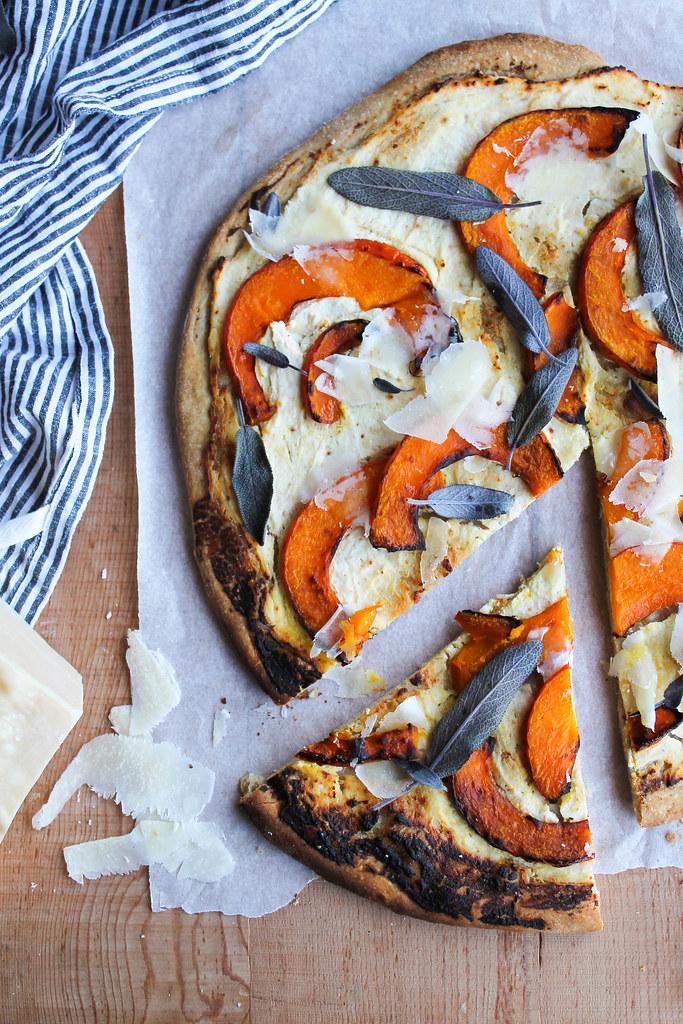 recette de pizza blanche
